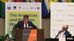 Secretario de Estado adjunto para Latinoamérica, Francisco Palmieri, durante la Conferencia de las Américas que se celebra anualmente en el Departamento de Estado. Foto: Mitzi Macias / VOA.