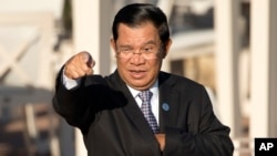 훈센 캄보디아 총리 (자료사진)