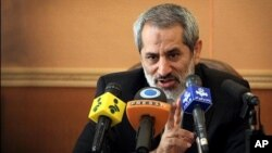"Tehran Prosecutor General Abbas Jafari Dolatabadi is one of two Iranian officials designated by the U.S. State and Treasury Departments ""for being responsible for or complicit in serious human rights violations."""