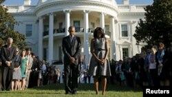 بارک اوباما د جمهور رئیس په توګه د ۹/۱۱ مراسم د وروستي ځل لپاره ولمانځل