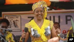 Zimbabwe First Lady Grace Mugabe