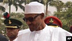 Le président Muhammadu Buhari du Nigeria