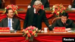 """Hiện có nhiều đồn đoán về khả năng giành """"ghế"""" của các ứng viên hàng đầu hiện nay như Tổng bí thư Nguyễn Phú Trọng, Thủ tướng Nguyễn Tấn Dũng…"""