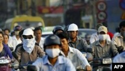 Môi trường HN vẫn ô nhiễm nặng trước Ðại lễ 1.000 năm Thăng Long