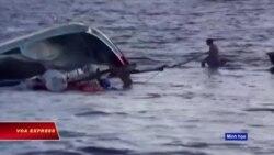 Tàu TQ đâm chìm tàu cá Việt ở Hoàng Sa