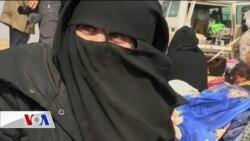 Bağuz'dan çıkarılan IŞİD aileleri örgütün yenilmekte olduğunu kabul etmiyor
