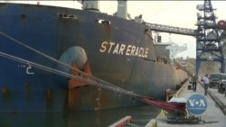 За допомогою США під Одесою відкрили зерновий термінал. Відео