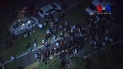 Protestas en Carolina del Norte por muerte de hombre negro