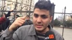 Mehman Hüseynov 200 manat cəriməni ödəmyəcəyini bəyan edib