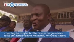 VOA60 Africa - C.A.R.: President's Election Win Confirmed