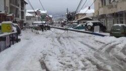 Снегот во Струга и струшко предизвика хаос