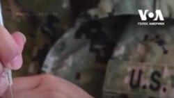 Це дуже горде відчуття: військові у США одні з перших волонтерів на щеплення проти COVID-19. Відео