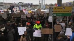 Se desatan protestas por decreto de Trump