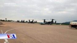 'Chim ưng biển' CV-22 của Mỹ xuất hiện lần đầu tại Việt Nam