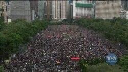 Протести гонконгців, антіфи та спроба атаки у Нью-Йорку: Огляд новин за вихідні. Відео
