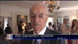 Shqiptarët e Nju Jorkut urojnë prof. Sami Repishtin
