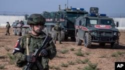 Suriye'de Türkiye ve Rusya ortak devriyesi