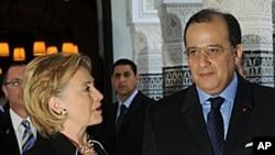 克林顿星期一会晤摩洛哥外长