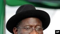 Le président Goodluck Jonathan