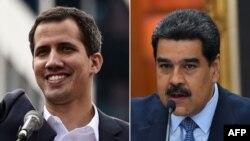 Venezuela está atrapada entre dos gobiernos, uno que lidera el presidente encargado Juan Guaidó, que tiene respaldo internacional, y el que representa Nicolás Maduro, apenas sin respaldo externo pero que tiene el apoyo de los militares de su país.