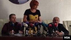 Erməni dissidentin mətbuat konfransı