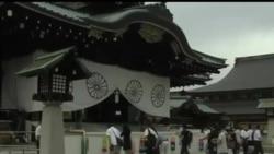 2012-08-15 美國之音視頻新聞: 日本內閣官員參拜靖國神社