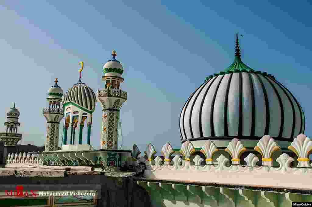 تصویری از یکی از بناها در بندر چابهار. عکس: محمد میربزرگ