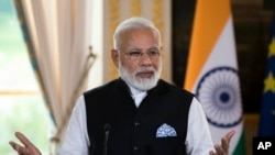 د هند صدراعظم نریندرا مودي لومړۍ بهرنی مشر دی چې ولسشمر ټرمپ په سپینه ماڼۍ کې میلمستیا ورکوي.
