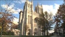 کلیسای جامع واشنگتن در اتفاقی تاریخی میزبان نماز جمعه مسلمانان آمریکا بود