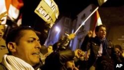 埃及抗议人潮
