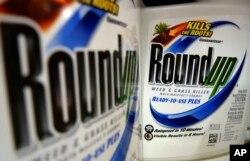 Pupuk pencegah tanaman liar, Roundup. (Foto: dok).
