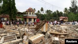 آتش سوزی در معبدی در یک شهر کوچک در ایالت جنوبی هند رخ داد و حدود شش ساعت مهار آن طول کشید.