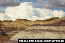 The Blue Mesa formations