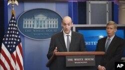 Gregory Jaczko i Dan Poneman odgovaraju na pitanja novinara u Bijeloj kući