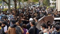 47名香港民主派人士被控串謀顛覆罪提堂 逾千市民庭外聲援