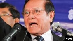 Ông Kem Sokha - Phó Chủ tịch Đảng Cứu nguy dân tộc Campuchia (CNRP) đối lập.