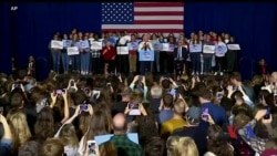 5 днів до проміжних виборів у США - до виборців звертаються важковаговики від обох партій. Відео
