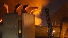 Shkup: Zjarri përfshin Drejtorinë e Postave