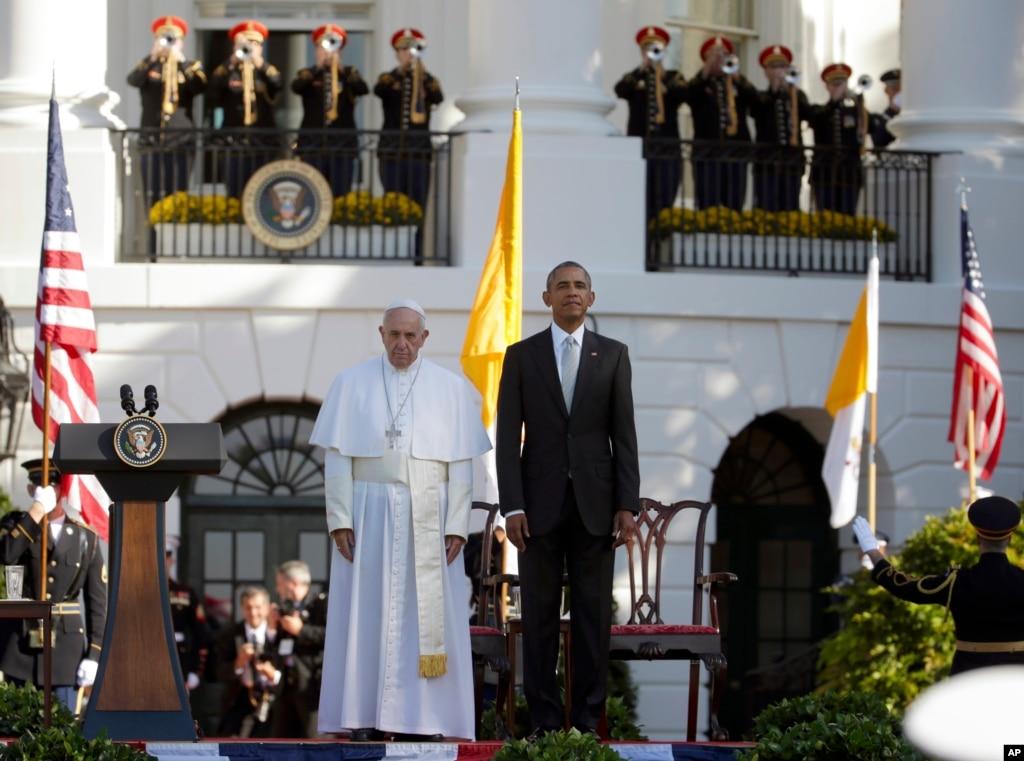 Папа Римський звернувся докатоликів США англійською