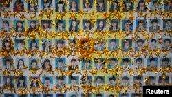 """圖為""""歲月號""""沉船事件中遇難者﹐大部分旅客都是高中生。"""