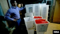صندوقهای اخذ رای انتخابات ریاست جمهوری