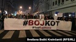 """Skup """"1 od 5 miliona"""" u Beogradu, 4. januara 2020 (Foto: Svetlana Božić Krainčanić, RSE)"""