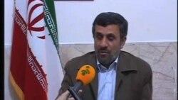 پیام احمدی نژاد برای مرگ چاوز