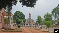 Cidade de Saurimo na Lunda-Sul