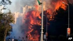 အစၥေရးႏိုင္ငံ Haifa ၿမိဳ႕မွာ ၄ ရက္ဆက္ မီးေလာင္။