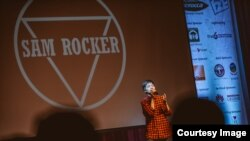 Sam Rocker is an emerging Cambodian solo artist, a songwriter, and a singer. (Courtesy photo)