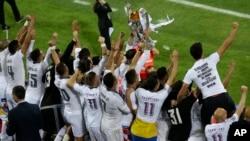 Real Madrid y Atlético de Madrid volvieron a disputar esta final, tal y como lo hicieron en el 2014, en Lisboa, Portugal.