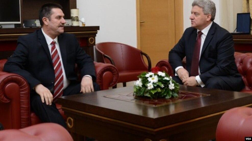 Shkup: takim Ivanov – Ivanovski
