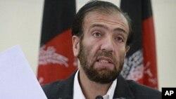فضل احمد معنوی، رئیس کمیسیون مستقل انتخابات