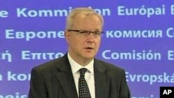ທ່ານ Olli Rehn ລັດຖະມົນຕີການເງິນ ຂອງ ສະຫະພາບຢູໂຣບ (29 ເມສາ 2010)
